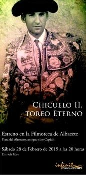 "Estreno del Documental ""Chicuelo II, toreo eterno """